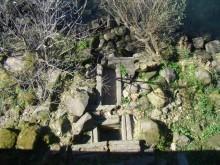 Termas de Castrelo á altura da presa.
