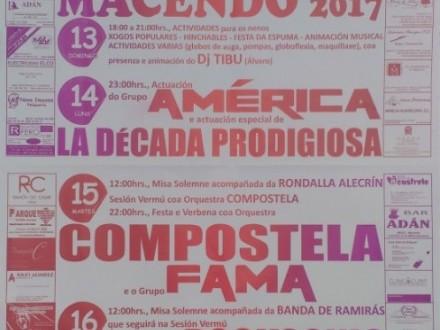 Festas en Macendo