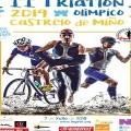 II TRIATLÓN OLÍMPICO 2019 EN CASTRELO DE MIÑO