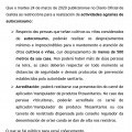 NOTA INFORMATIVA: RESTRICCIÓNS ACTIVIDADES AGRARIAS AUTOCONSUMO