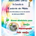 Cursos de informática para o mes de xaneiro na aula CeMIT (INFO) de Castrelo de Miño.