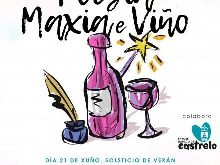 Poesía, Maxia e Viño
