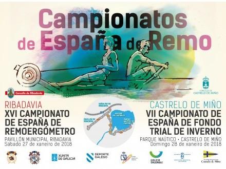 Campionatos de España de Remo: VII Campionato de Fondo Trial de Inverno