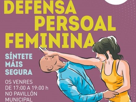 Curso: Defensa personal femenina