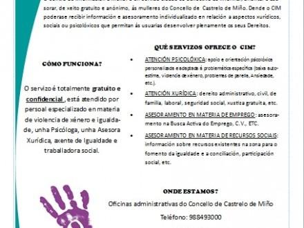 CENTRO DE INFORMACIÓN Á MULLER (CIM)