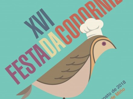 Festa da Codorniz en Cortiñas os vindeiros 14, 15 e 16 de agosto