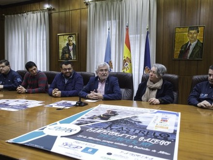 Presentación do Campionato Galego de Piragüismo