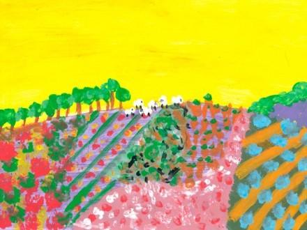 Entre 15.000 participantes, unha alumna do CEIP Castrelo de Miño gaña a XXII edición do certame Fertiberia de Pintura Rural Infantil