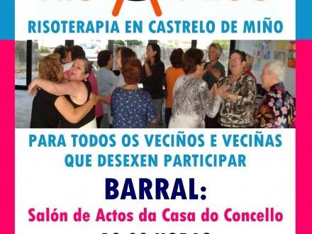 Risaplus: Risoterapia en Castrelo de Miño