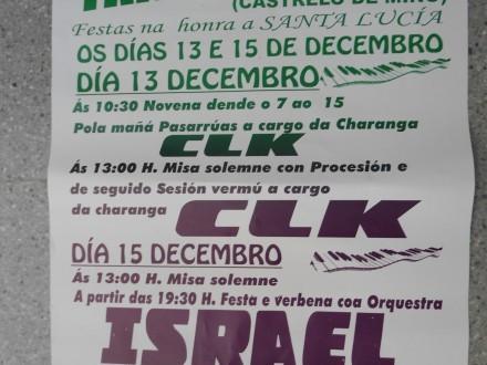 FIESTAS EN TRAVESO (SANTA LUCÍA)
