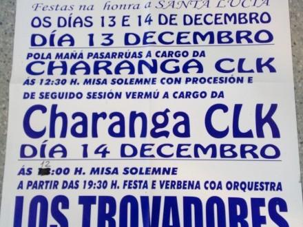 Fiestas en honor a Santa Lucía 2019