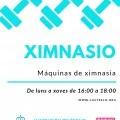 Gimnasio municipal abierto en Castrelo de Miño