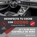 Desinfecta tu coche con ozono frente al COVID-19