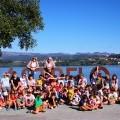 Xornada de convivencia no Parque Náutico entre os campamentos de Castrelo de Miño e Ribadavia