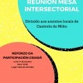 Próxima reunión Mesa Intersectorial