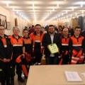 A Agrupación de Protección Civil de Castrelo de Miño incorpora un desfibrilador ao seu equipamento